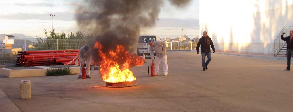 curso extinción de incendios